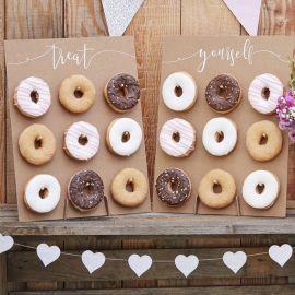 2 Paredes de Donuts Rústicas