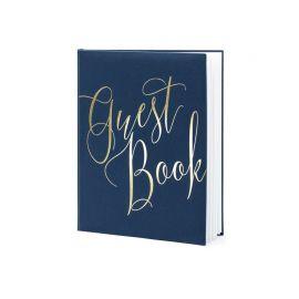 Libro de Firmas con Guest Book Dorado