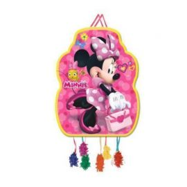 Piñata Minnie con Bolso Rosa