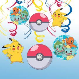 6 Colgantes Pokémon