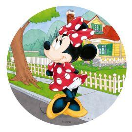 Obleas Minnie Mouse 20 cm