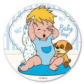 Obleas Niño Bebé 20 cm