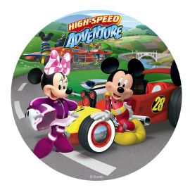 6 Discos Comestibles de Mickey & Minnie 20 cm