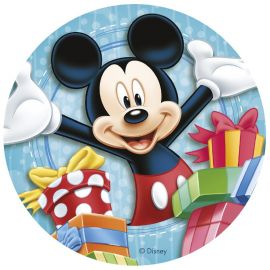 Discos Comestibles de Mickey Mouse & CO 20 cm