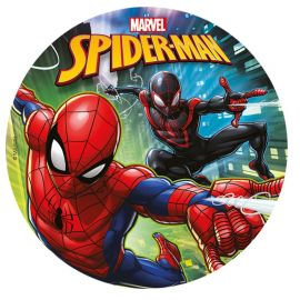 Discos Comestibles de Spiderman 20 cm