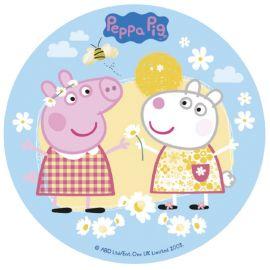 Oblea de la Peppa Pig 16 cm