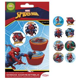 Mini Oblea Spiderman 3,4 cm