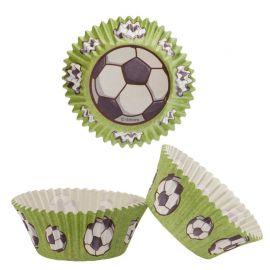 Cápsulas para Cupcake Fútbol 5 cm