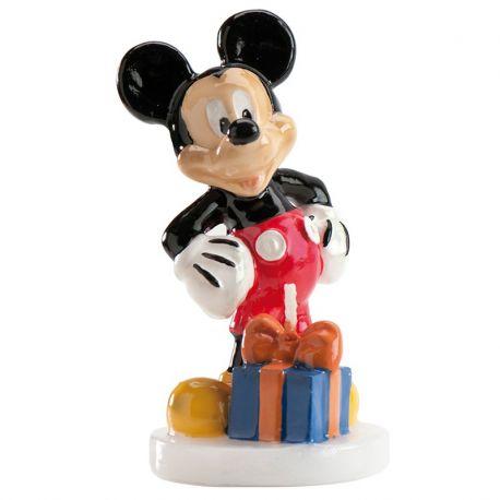 6 Velas Mickey Mouse 8 cm