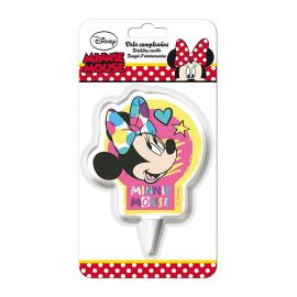 Vela de Cumpleaños Minnie Mouse 7,5 cm 2D