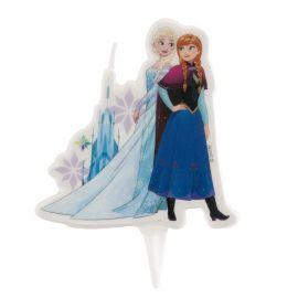 Vela de Elsa y Anna 7,5 cm 2D