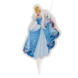 Vela de Princesas Cenicienta 7,5 cm 2D