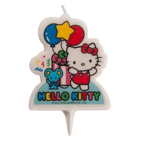 12 Velas 2D Hello Kitty