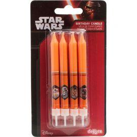 Velas forma Palillo Star Wars 9 cm