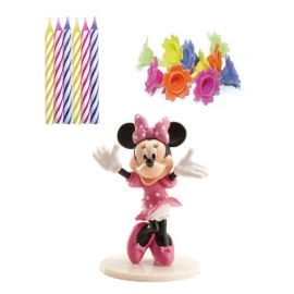 Pack de Velas Minnie Mouse para Pastel