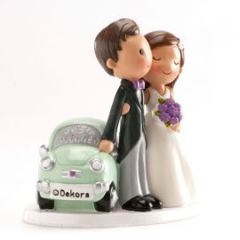 Muñecos de Boda Just Married 12 cm