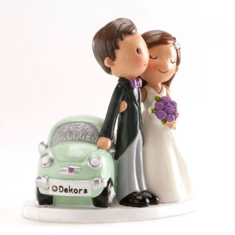Muñecos de Boda Just Married 12 cm