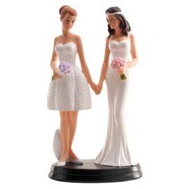 Muñecos de Boda Lesbiana 20 cm