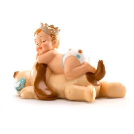 Figura Bautizo Niño Durmiendo