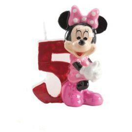 Vela Nº 5 Minnie Mouse 6,5 cm