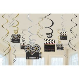 12 Decoraciones Colgantes Hollywood
