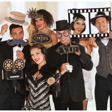 12 Accesorios para Photocall Hollywood