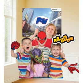 12 Accesorios SpiderMan para Photocall