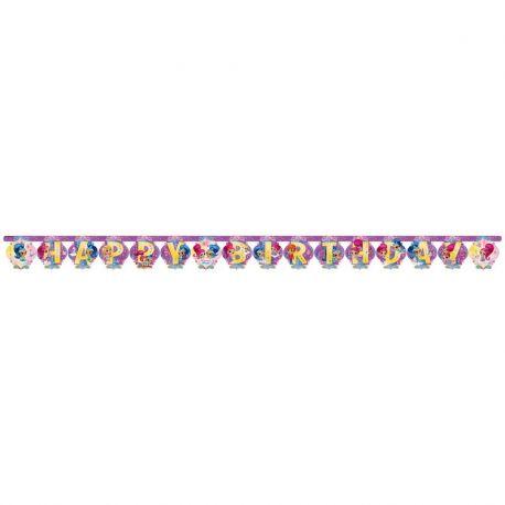 Guirnalda Shimmer & Shine 2 m x 13 cm