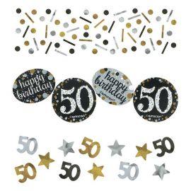 Confeti Elegant Celebracion 50 Años