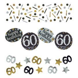 Confeti Elegant Celebracion 60 Años