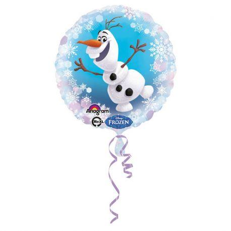 Globo Frozen Olaf Foil Redondo