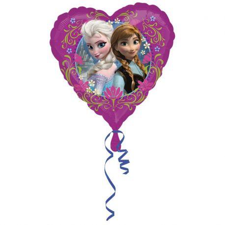 Globo Frozen en Forma de Corazón