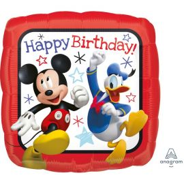 Globo Mickey Mouse Happy Birthday Foil