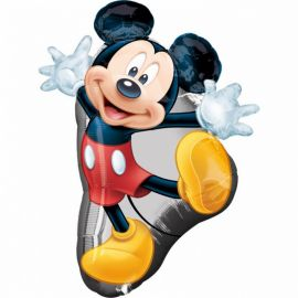 Globo en Forma de Mickey Mouse 55 cm x 78 cm
