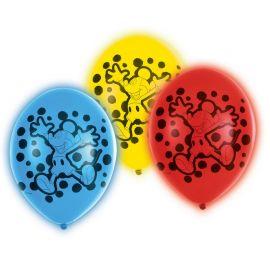 5 Globos Mickey Mouse de Led