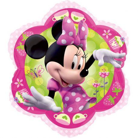 Globo en Forma de Flor Minnie Mouse