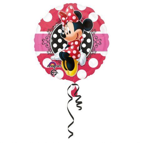 Globo Minnie Mouse Portrait de Foil