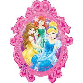 Globo en Forma Espejo Princesas 63 cm x 78 cm