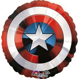Globo en Forma Escudo Capitán America 71 cm