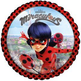 Globo Ladybug de Foil Redondo