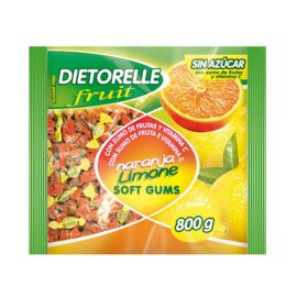 Caramelos Dietorelle de Naranja y Limón 800 gr