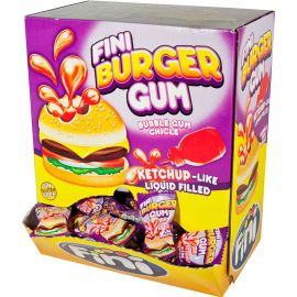Chicles Hamburguesa 200 uds