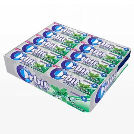 Chicles Orbit White de Hierbabuena 30 paquetes