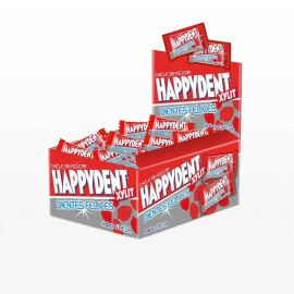 Chicles Happydent de Fresa 200 uds