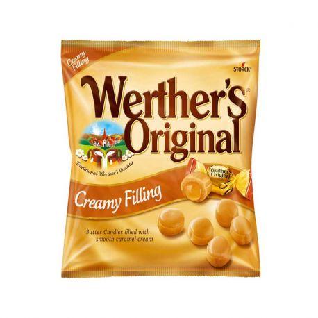 Caramelos Werther's de Caramelo y Crema 15 paquetes