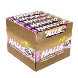 Caramelos Halls de Regaliz Sin Azúcar 20 paquetes
