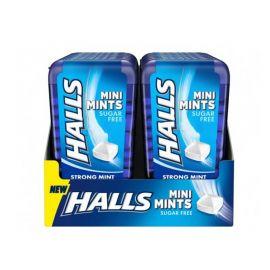 Caramelos Halls Mini Mints de Menta 12 paquetes