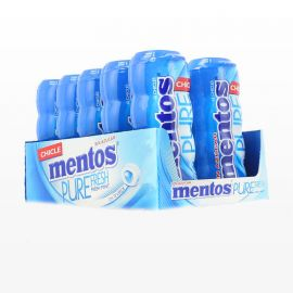 Chicles Mentos Fresh Mint 10 paquetes