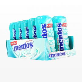 Chicles Mentos Wintergreen 10 paquetes