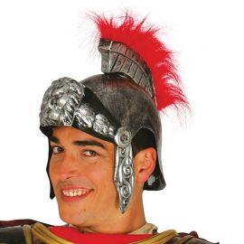 Casco de Romano Plateado